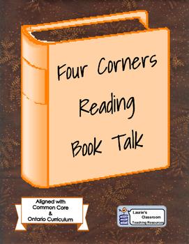 Four Corners Reading Book Talk