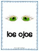 El Cuerpo -  Spanish Parts of Body, Four Corners Game, Flash Cards