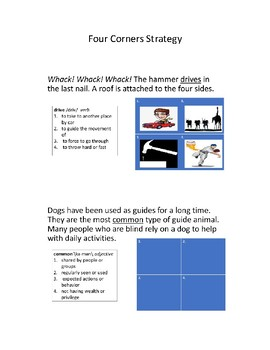 Four Corners Strategy