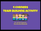 Four Corners Team Building Activity