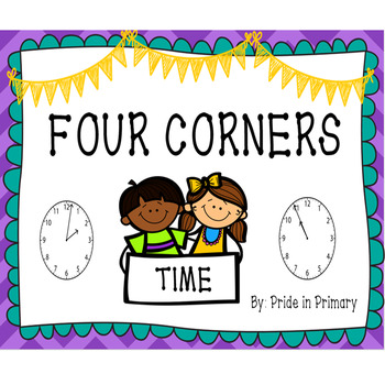 Four Corners - Telling Time to the Minute, Minutes Past, Q