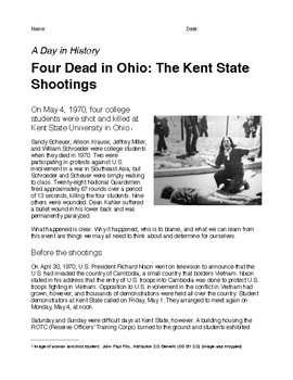 Four Dead in Ohio: The Kent State Shootings (A Day in History)