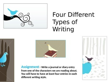 Four Different Types of Writing Styles