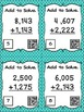 Four Digit Addition Without Regrouping - 24 Task Cards with QR Codes