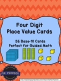 Four Digit Base-10 Number Cards - A Multi-Purpose Tool - 56 Cards