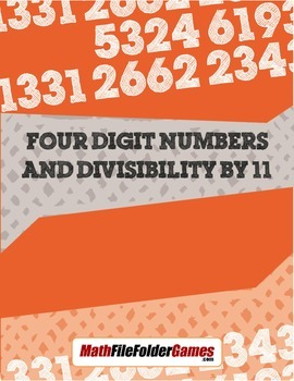 Four-Digit Numbers and Divisibility by 11