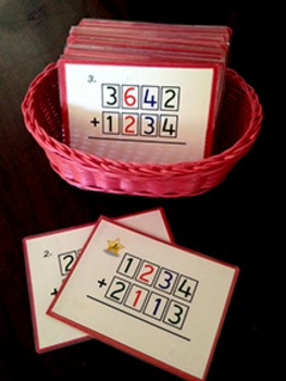 Four Digit Operations -- Addition