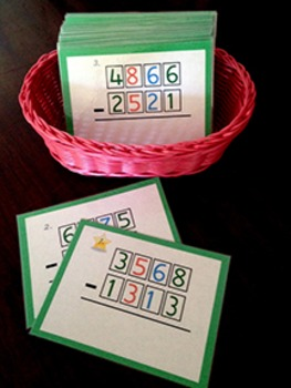 Four Digit Operations -- Subtraction