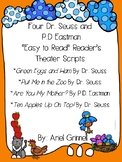 "Four ""Easy-to-Read"" Dr. Seuss and P.D. Eastman Reader's Th"