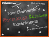 Four Elementary Christmas Science Experiments and Demos!