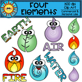 Four Elements Clip Art