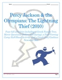 Four Fabulous Activities to use with Percy Jackson: The Lightning Thief (movie)