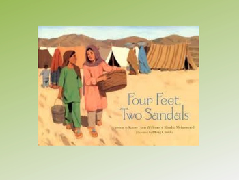 Four Feet, Two Sandals Text Talk
