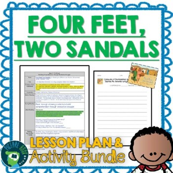 Four Feet, Two Sandals by Karen Lynn Williams Lesson Plan and Activities