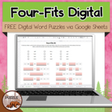 Four-Fits 1-8 - Free Digital Puzzles
