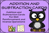 Four, Five and Six Digit Addition and Subtraction Cards