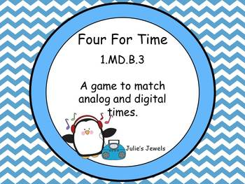 Four For Time 1.MD.B.3