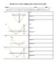 Four Forms of Quadratic Functions - VARIETY OF WORKSHEETS *** SET 1 ***