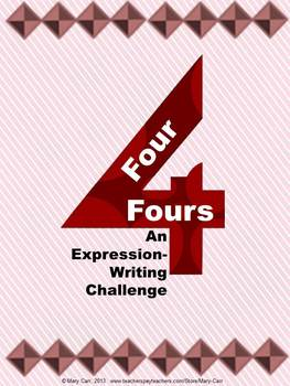 Four Fours - An Expression-writing Challenge