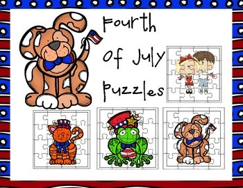 Four Fourth of July Puzzles