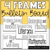 Four Frames Bulletin Board Set Freebie