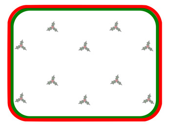 Four Free Christmas Backgrounds