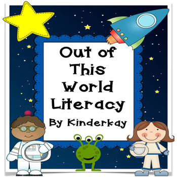 Out of This World Space Literacy Centers and Writing Craftivities