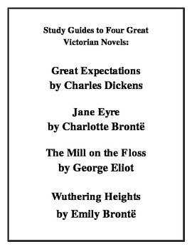 """""""Four Great Victorian Novels"""": Study Guides"""
