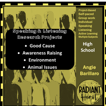 Speaking & Listening Research Projects: Awareness Raising; VCAL RESOURCES