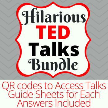 Four Hilarious Ted Talks