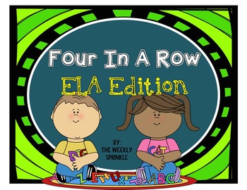 Four In A Row ELA Edition