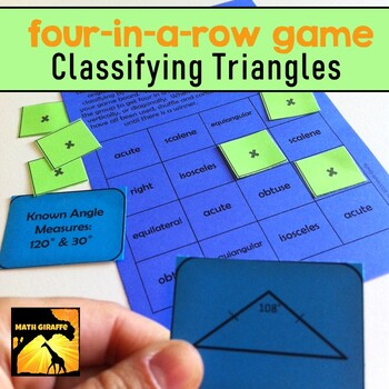Four-In-A-Row Game: Classifying Triangles