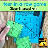 Four-In-A-Row Game: Slope-Intercept Form