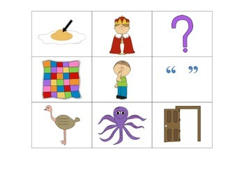"""""""Four In A Row!"""" Letter Recognition Game (Z, Y, Q, O, W)"""
