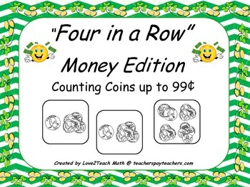 Four In A Row- Money Edition