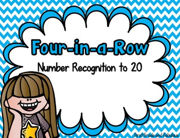 Four-In-A-Row (Number Recognition to 20)
