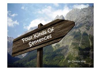 Four Kinds of Sentences