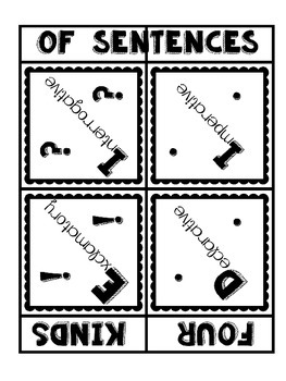 "Four Kinds of Sentences:  A ""YMCA"" Remake"
