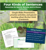 Four Kinds of Sentences for Digital and Hybrid Classrooms