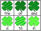 Four Leaf Clover Fry's First 50 Sight Word Game