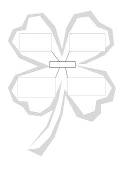 Four Leaf Clover Graphic Organizer