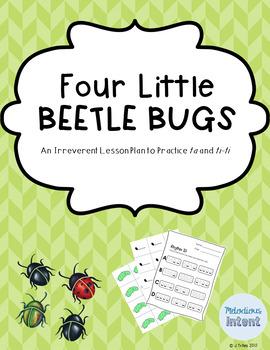 Four Little Beetle Bugs