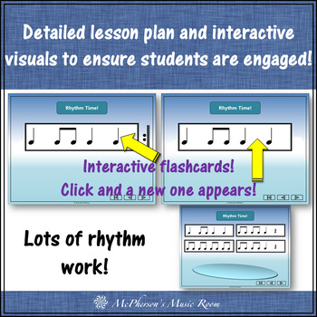Four Little Penguins: Orff, Rhythm, Ostinato, Form & Instruments (eighth notes)