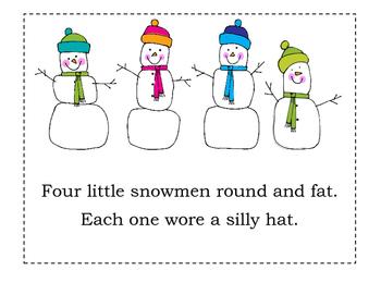 Four Little Snowmen~A Winter Number Story