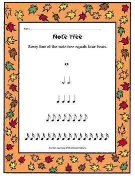 Four MORE fall themed music sheets great for lessons or sub plans thanksgiving!!