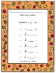 Four MORE fall themed music sheets great for lessons or su