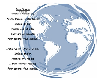Four Oceans Song