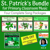 Four Original Complete St. Patrick's Song Packages for the