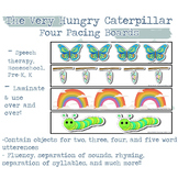 Four Pacing Boards for Speech and Language Development   V