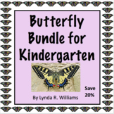 Butterfly Life Cycle for Kindergarten Bundle